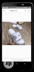 New Quality Men's White Pam Slippers | Shoes for sale in Amuwo-Odofin, Lagos State, Nigeria