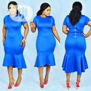 Quality Casual/Corporate High-Low Blue Coloured Gown | Clothing for sale in Lagos State, Lagos Island