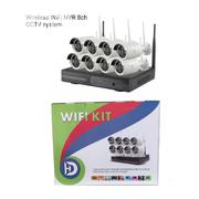 8CH Wireless Wifi CCTV Camera Kit (Self Install) | Security & Surveillance for sale in Lagos State, Lagos Mainland