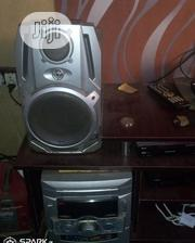 Silver Color 2 Big Speakers And The Engine | Audio & Music Equipment for sale in Ogun State, Sagamu