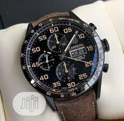 Tag Heuer Carrera Chronograph Wristwatch | Watches for sale in Lagos State, Oshodi-Isolo