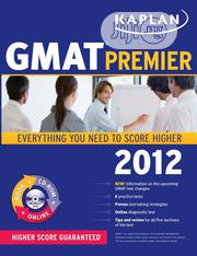 Kaplan Gmat Premier 2012 | Books & Games for sale in Lagos State, Ikeja