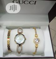 Gucci Women's Fashion Gold Wrist Watch | Watches for sale in Lagos State, Surulere