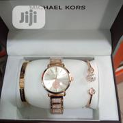 Michael Kors Gold Women's Wrist Watch And Bracelets. | Jewelry for sale in Lagos State, Surulere