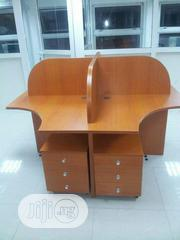 (4) Seater Work Station With Mobile Drawer | Furniture for sale in Lagos State, Victoria Island
