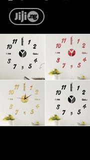 Acrylic Wall Clock | Home Accessories for sale in Lagos State, Badagry
