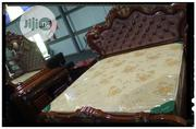 Well Polished Brown Bed | Furniture for sale in Lagos State, Lagos Island