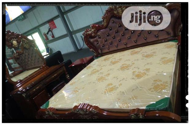Well Polished Brown Bed