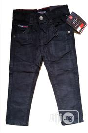 Boys Corduroy Black Trouser From 6months to 3yrs | Children's Clothing for sale in Lagos State, Isolo