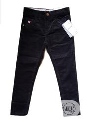 Boys Corduroy Black Trouser From 4- 14yrs | Children's Clothing for sale in Lagos State, Isolo