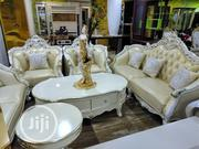 Executive Quality Royal Sofa Chair With Centre Table Stools | Furniture for sale in Lagos State, Ojo