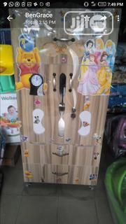 High Quality Children Wooden Wardrobe,Brown | Children's Furniture for sale in Lagos State, Agege