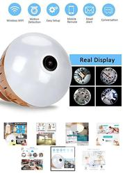 Hidden Night Vision Spy Camera With Wifi, 360 Degree Bulb, 1080P | Security & Surveillance for sale in Lagos State, Ikeja