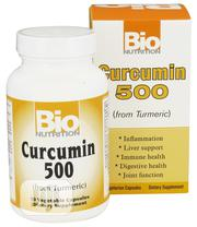 Bio Nutrition Curcumin (From Turmeric) 500 Mg - 50 Veg Caps | Vitamins & Supplements for sale in Lagos State, Ipaja