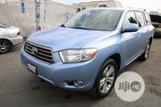 Toyota Highlander 2008 Sport Blue | Cars for sale in Lagos State, Alimosho