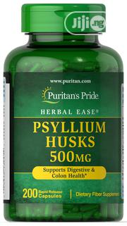 Psyllium Husks 500 Mg -To Relieve Constipation Diarrhea   Vitamins & Supplements for sale in Lagos State, Ipaja