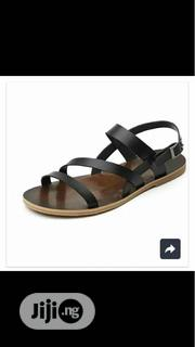 Dark Brown Leather Sandal X White Grey Mocassin. | Shoes for sale in Lagos State, Lagos Mainland