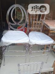 High Quality Executive Crystal Padded Cushion Single Chairs | Furniture for sale in Rivers State, Port-Harcourt