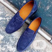 Navy Blue Loafers Dark Brown Moccasin. | Shoes for sale in Lagos State, Lagos Mainland