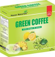 Green Coffee With Lemon Ginger | Vitamins & Supplements for sale in Abuja (FCT) State, Garki 2