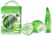 Aloevera Gift Set (Moisture Gel And Scrub) | Skin Care for sale in Lagos State, Surulere