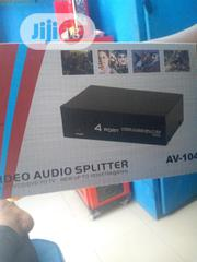 Video Audio Splitter 4port | Accessories & Supplies for Electronics for sale in Lagos State, Ikeja