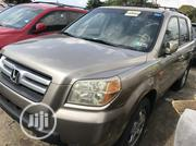 Honda Pilot 2006 EX-L 4x4 (3.5L 6cyl 5A) Gold | Cars for sale in Lagos State, Amuwo-Odofin