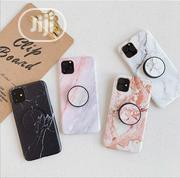 iPhone 11,11 Pro & 11 Pro Max White Marble & Pop Socket Case | Accessories for Mobile Phones & Tablets for sale in Lagos State, Ikeja