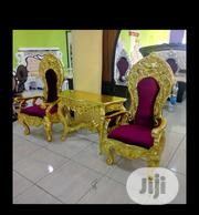 2-in-one Console Royal Chair With Table | Furniture for sale in Lagos State, Ojo