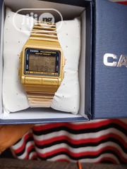 Casio Illuminator Water Resistant Watch - Gold | Watches for sale in Lagos State, Lagos Island