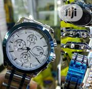 Tissot Chronograph Date Watch - Silver | Watches for sale in Lagos State, Lagos Island