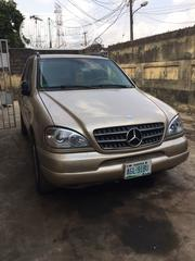 Mercedes-Benz M Class 2002 Gold | Cars for sale in Lagos State, Mushin