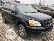 Honda Pilot 2004 EX-L 4x4 (3.5L 6cyl 5A) Black | Cars for sale in Lagos State, Lekki Phase 1