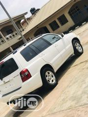 Toyota Highlander 2004 Limited V6 4x4 White | Cars for sale in Lagos State, Mushin