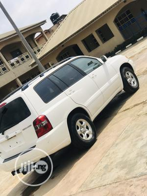 Toyota Highlander 2004 Limited V6 4x4 White