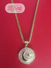 Crescent Moon Pendant Chain - Gold | Jewelry for sale in Lagos State, Lagos Island