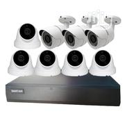 8CH (5-Indoor, 3-Outdoor, 2MP, 30M IR) IP Network Camera System Kit | Security & Surveillance for sale in Lagos State, Lagos Mainland