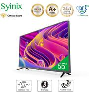 "Syinix 55"" Inch Android 4K UHD Smart LED TV - T710U Series- Black 