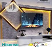 Hisense 65-inch Smart UHD 4K TV - Black With Free Wall Bracket   TV & DVD Equipment for sale in Rivers State, Port-Harcourt