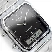 Unisex Casio Silver Wristwatch | Watches for sale in Lagos State, Ikeja