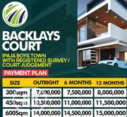 Plots of Land for Sale in Baclayz Court Estate Ipaja Ayobo Road | Land & Plots For Sale for sale in Lagos State, Ipaja