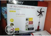 """Century 18"""" Rechargeable Fan 