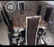 High Quality Dining Marble Top And 6 Chairs | Furniture for sale in Lagos State, Ojo