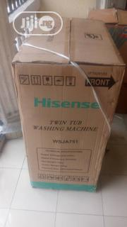 A Brand New 7.2kg Hisense Twin Tub Washing Machine   Home Appliances for sale in Rivers State, Obio-Akpor