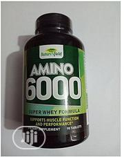 Nature'S Field Amino 6000 Super Whey Protein Formula - 90 Tabs | Vitamins & Supplements for sale in Lagos State, Ipaja