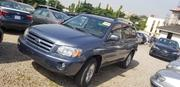 Toyota Highlander V6 4x4 2006 Blue | Cars for sale in Abuja (FCT) State, Wuse II