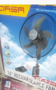 "Qasa 16"" Rechargeable Fan 