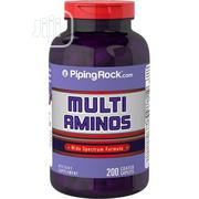 Pipingrock Multi Aminos 1000 Mg - 200caplets Muscle Builder | Vitamins & Supplements for sale in Lagos State, Ipaja