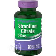 Piping Rock Strontium Citrate 340 Mg - 90 Caps | Vitamins & Supplements for sale in Lagos State, Ipaja
