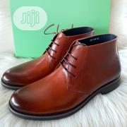 Original Clarks Men's Leather Ankle Boots Shoes | Shoes for sale in Lagos State, Lagos Island